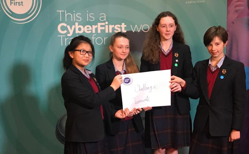 Outstanding performance in CyberFirst final