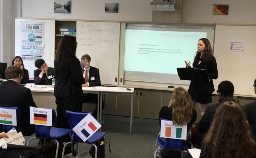 Demanding debates at MUN