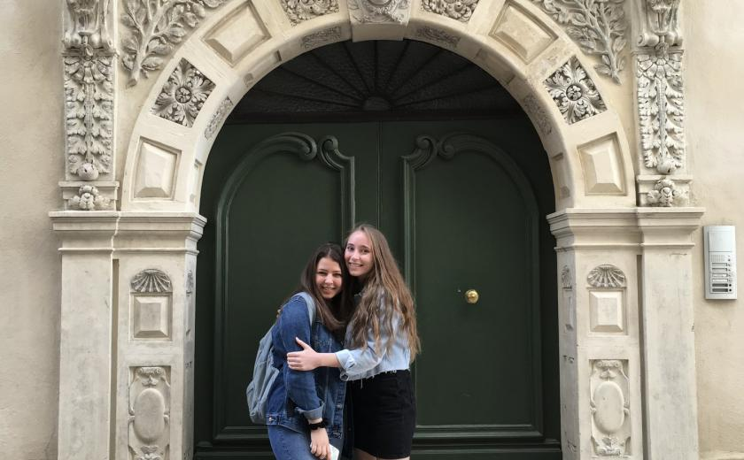 Girls enjoy French trip to Montpellier