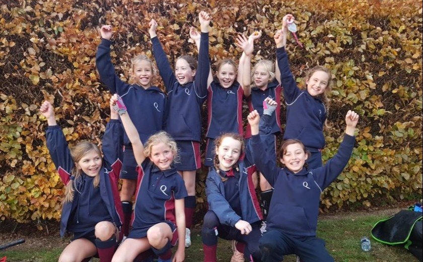 Girls excel in Hockey competitions