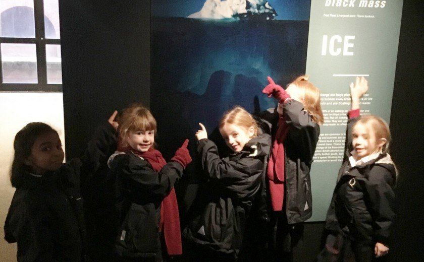 Year 2 expand learning at Maritime Museum