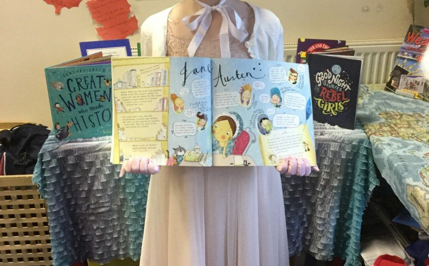 Inspiring women for World Book Day