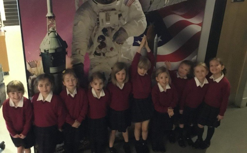 Out of this world trip for Reception