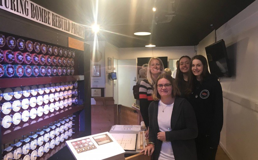A-level visit to Bletchley Park