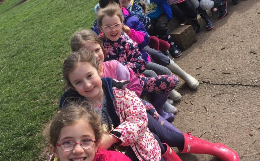 Residential fun for Year 3
