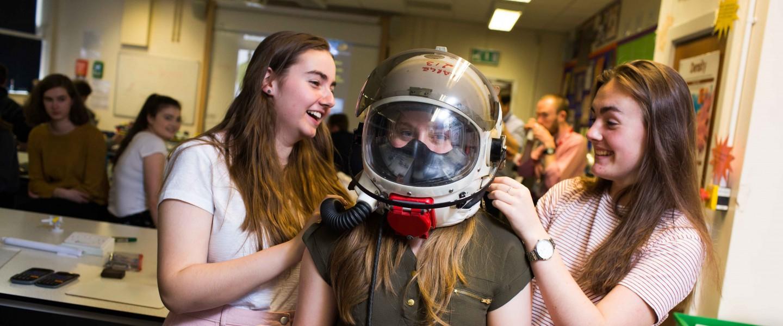SS space helmet